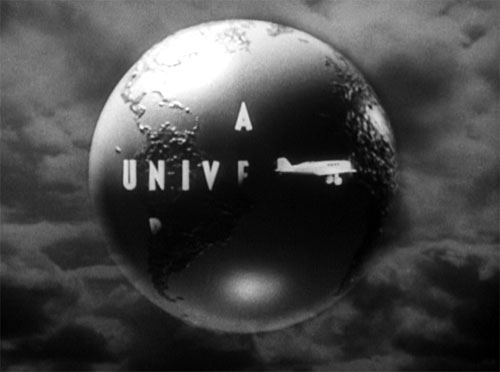 The Mummy (1932): I love the old Universal logo.