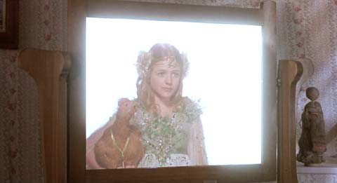 Return to Oz: Ozma has promised to look in on Dorothy from time to time.