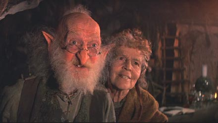 The NeverEnding Story: Engywook (Sydney Bromley) and Urgl (Patricia Hayes)