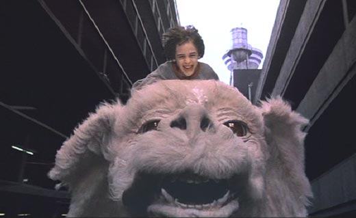 The NeverEnding Story: Bastian and Falkor